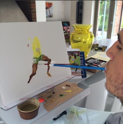 Ünlü sporcuları böyle çiziyor galerisi resim 1