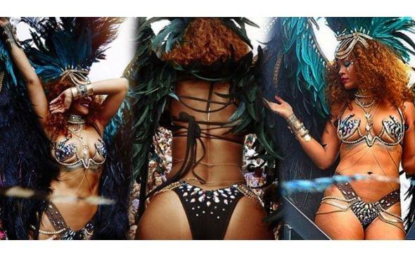 Rihanna yine coştu galerisi resim 1