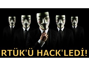 ANONYMOUS RTÜK'Ü HACK'LEDİ!