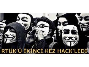 ANONYMOUS RTÜK'Ü İKİNCİ KEZ HACK'LEDİ