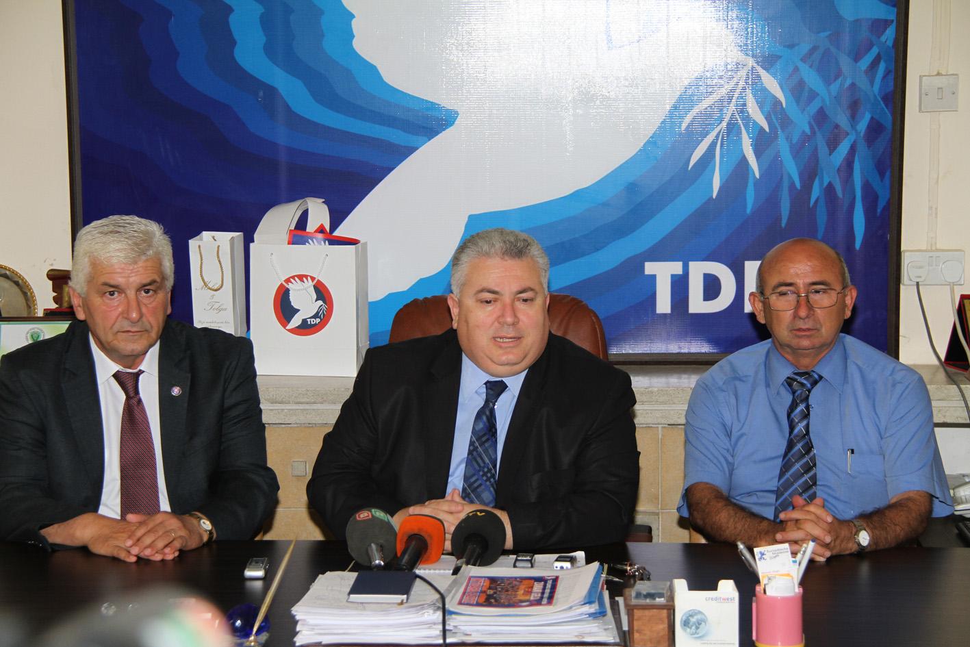ARSLAN GENEL SEÇİMLERDE TDP'DEN MİLLETVEKİLİ ADAYI