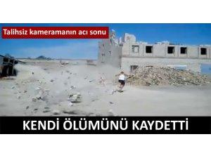 KENDİ ÖLÜM ANINI BÖYLE KAYDETTİ!
