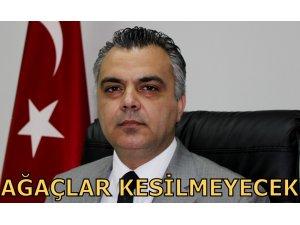 """""""TRAFİK EĞİTİM PARKI YANINDA BULUNAN AĞAÇLAR KESİLMEYECEK"""""""