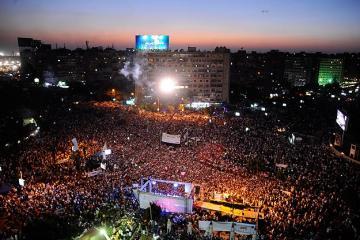 MISIR'DA MURSİ'YE DESTEK GÖSTERİLERİ