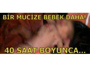 40 SAAT KANALİZASYON BORUSUNDA...