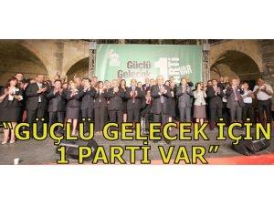 """""""GÜÇLÜ GELECEK İÇİN 1 PARTİ VAR"""""""