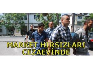MARKET HIRSIZLARI CEZAEVİNDE