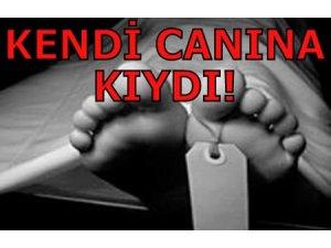 KENDİ CANINA KIYDI!