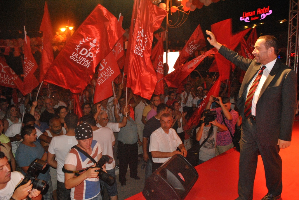"""""""DP-UG OLARAK HEDEFİMİZ ÖNCE İNSAN, ÖNCE KKTC"""""""