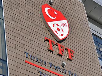 TFF'DE SÜRPRİZ İSTİFA!