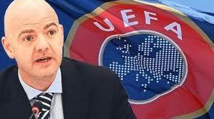 UEFA GENEL SEKRETERİ INFANTINO KONUŞTU