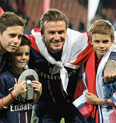 BECKHAM ARSENAL'DE