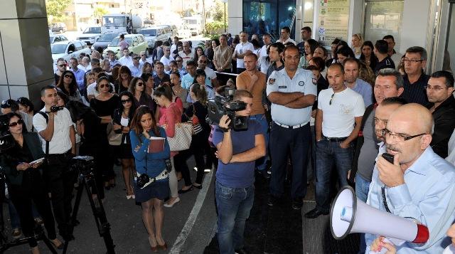 LTB YÖNETİMİNE PROTESTO