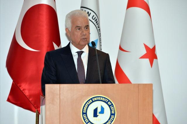 """EROĞLU: """"KIBRIS'IN STRATEJİK ÖNEMİ ARTIYOR"""""""