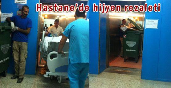 HASTANE'DE HİJYEN REZALETİ