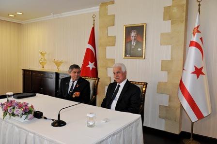 CUMHURBAŞKANI EROĞLU, TC MUHARİP GAZİLER DERNEĞİ