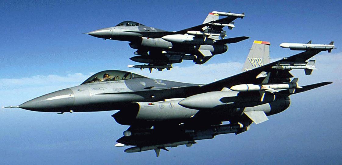 F-16'LAR VUR EMRİYLE HAVALANDI