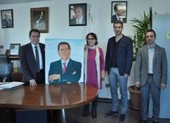 LTB BAŞKANI KADRİ FELLAHOĞLU SOS ANNESİ SERTDEMİR'İ KABUL ETTİ.