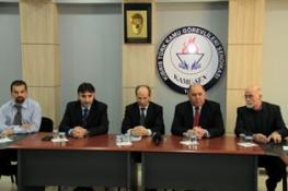 CTP-BG HEYETİ KAMU-SEN'İ ZİYARET ETTİ