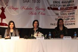"""""""KIBRIS TÜRK KADINININ SİYASETTEKİ YERİ"""" KONULU PANEL"""