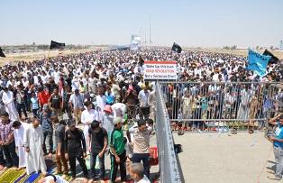 IRAK'TAKİ GÖSTERİLERDE ÖLÜ SAYISI 53'E YÜKSELDİ