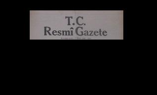 TC-KKTC ARASINDAKİ ANLAŞMA TC RESMİ GAZETESİ'NDE YAYINLANDI!