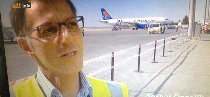 """ALMAN """"ZDF"""" KANALI, ERCAN'I VE ÜLKEMİZİ TANITTI"""