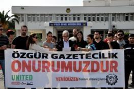 DİDEM MENTEŞ'İN MAHKEMEDE SALDIRIYA UĞRAMASI PROTESTO EDİLDİ