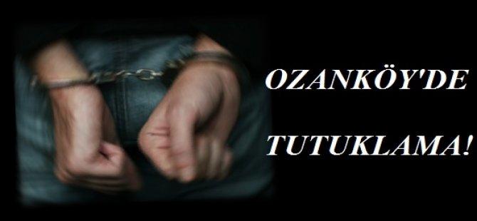 OZANKÖY'DE 34 YAŞINDAKİ BİR ERKEK