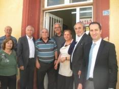 CTP-BG GÜZELYURT BELEDİYE BAŞKAN ADAYI BİCAN, ESNAFI ZİYARET ETTİ