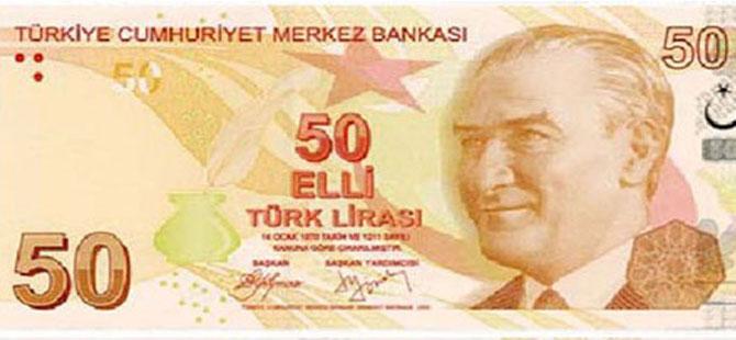CEBİNİZDEKİ 50 TL'LİK BANKNOTLAR SAHTE OLABİLİR