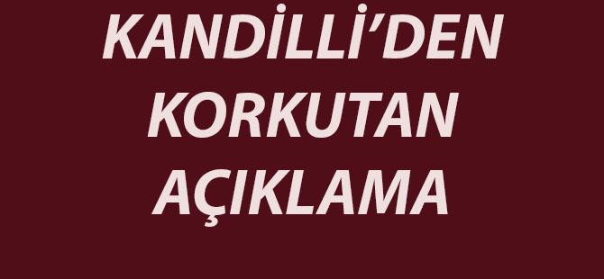 KANDİLLİ'DEN DEPREM SONRASI ÖNEMLİ AÇIKLAMA