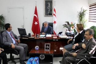 MİLLİ EĞİTİM BAKANI ARABACIOĞLU, JABARIN'İ KABUL ETTİ