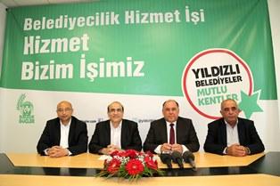 """CTP-BG """"YILDIZLI BELEDİYECİLİK"""" HEDEFİNİ ANLATTI"""