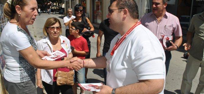 """""""TAKIM LEFKOŞA"""" SARAYÖNÜ, ARASTA VE BANDABULYA'YI ZİYARET ETTİ…"""