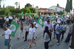 CTP-BG DEREBOYU CADDESİ'NDE YÜRÜYÜŞ DÜZENLEDİ