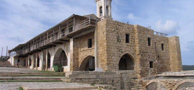 APOSTOLOS ANDREAS MANASTIRI'NIN RESTORASYONUNDA BİR ADIM DAHA
