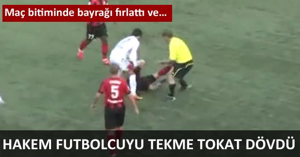 Futbolcuya Saldırdı
