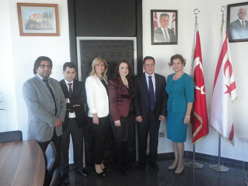 TC KONFEDERASYONLAR TOPLULUĞUN FELLAHOĞLU'NU ZİYARETİ