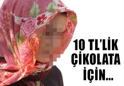 KARISINI 10 TL'LİK ÇİKOLATA  ALDI DİYE ...