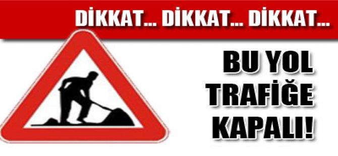 ARAÇ SÜRÜCÜLERİ DİKKAT!