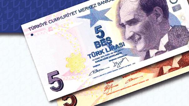 YENİ 5 LİRALIK BANKNOTLAR MOR OLDU!