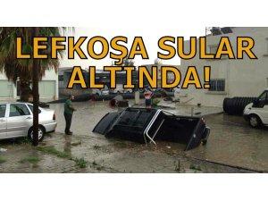 LEFKOŞA SULAR ALTINDA!
