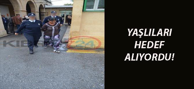 YAŞLILARI HEDEF ALIYORDU!