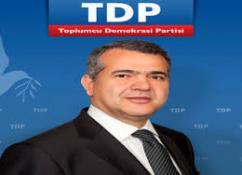 TDP'DEN ERK'E ELEŞTİRDİ