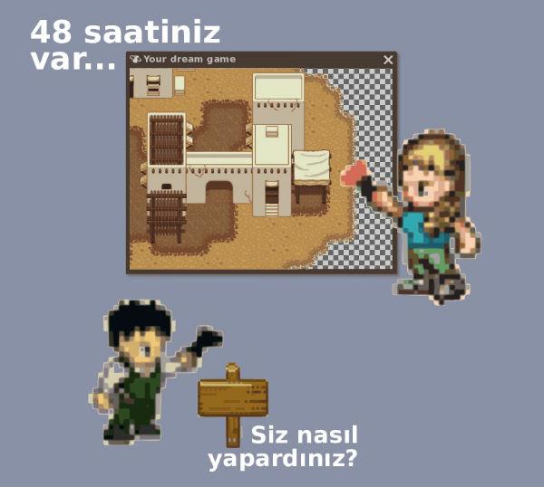 """""""GLOBAL GAME JAM"""" ETKİNLİĞİ"""