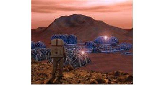 MARS'TA TÜRK MİMARİSİ...