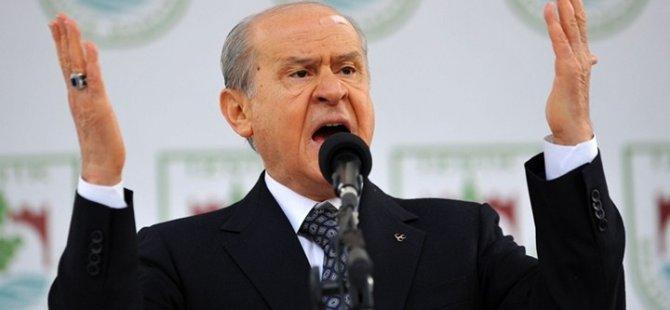 BAHÇELİ'YE GÖRE KKTC, TC TOPRAĞI!