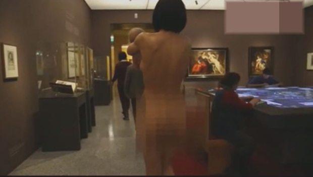 Müzede 'Çıplak' Sürpriz