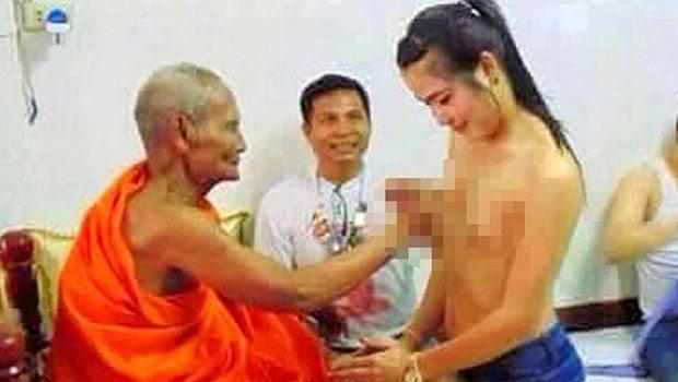 Budist rahibin görüntüleri Tayland'ı karıştırdı